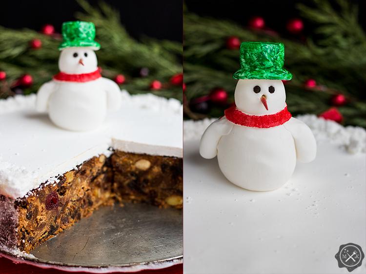Christmas cake, czyli placek bożonarodzeniowy