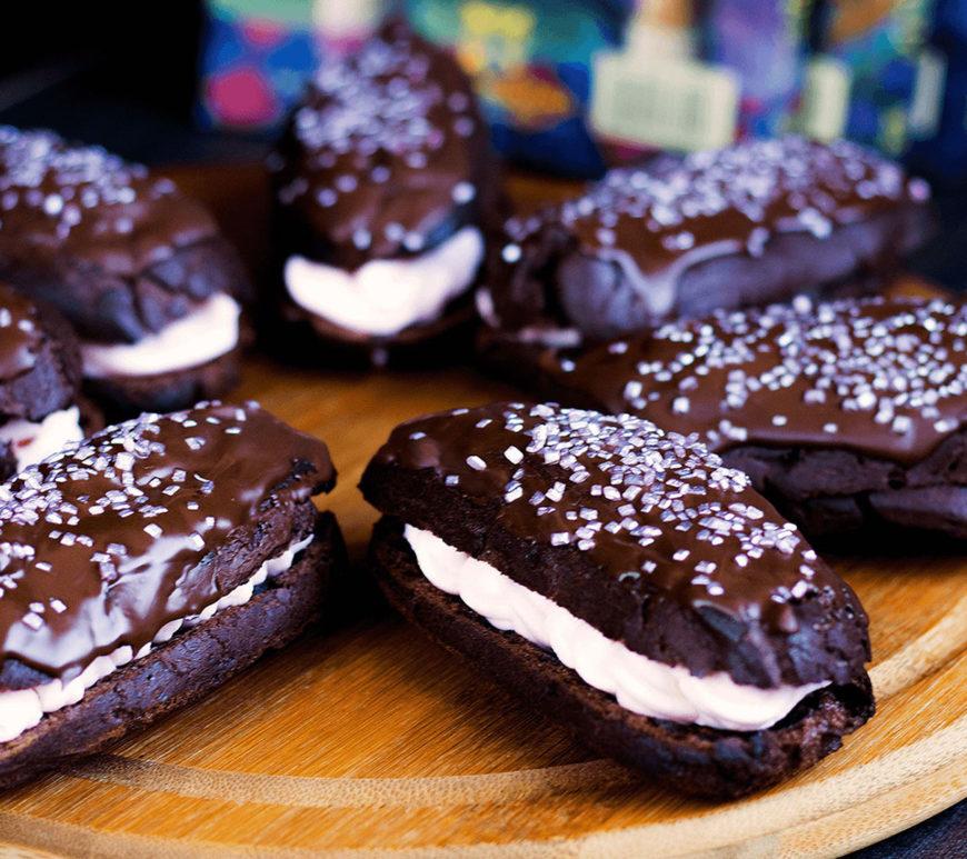 Eklery czekoladowe