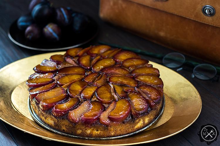 Ciasto śliwkowe Pani Weasley - Mrs. Weasley Homemade Plum Cake