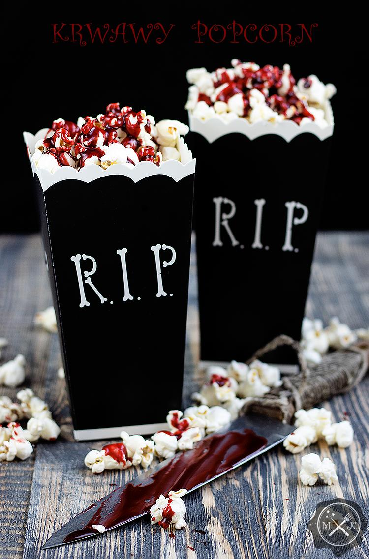 Krwawy popcorn / Bloody popcorn