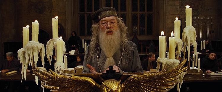 Albus Dumbledore, Harry Potter i Czara Ognia
